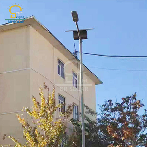 8M60W Top Battery Solar Street Lights in Haiti
