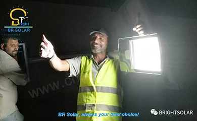 BR Solar Street Light is the King in the Night