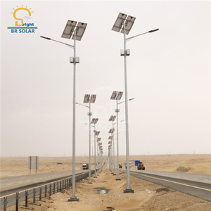 6M40W Hanging Battery Solar Street Lights in Uganda