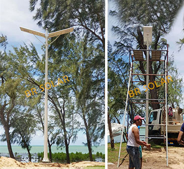 BR SOLAR All in one Solar Street Light Supply In Mauritius